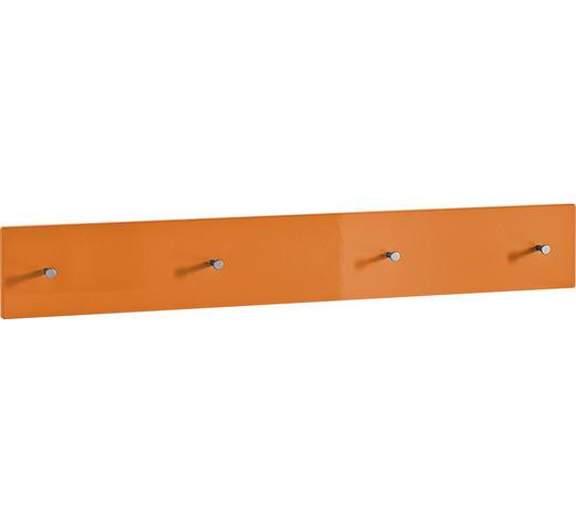GARDEROBENLEISTE - Orange, Design, Holzwerkstoff (106/15/5cm) - Xora