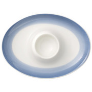 EIERBECHER Keramik - Blau/Creme, KONVENTIONELL, Keramik (0,1l) - Villeroy & Boch