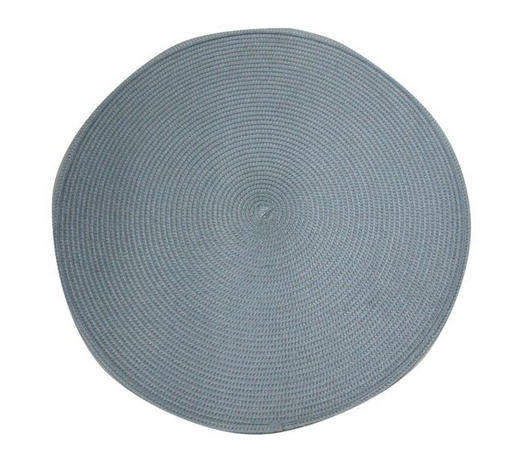 TISCHSET Kunststoff  - Hellblau, Basics, Kunststoff (38cm) - Ambia Home