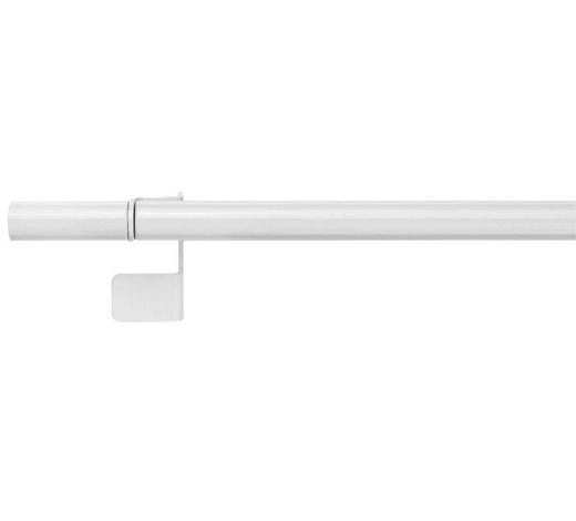 UPÍNACÍ TYČ - bílá, Basics, kov (39/3,5/4cm) - Homeware