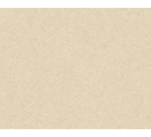 VLIESTAPETE 10,05 m  - Gelb/Creme, Basics, Textil (53/1005cm)
