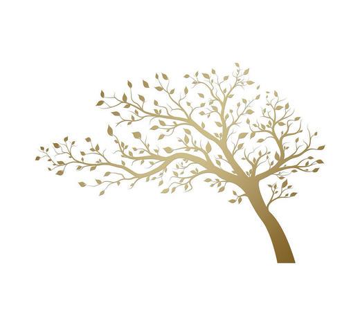 Bäume WANDTATTOO  - Multicolor, Basics, Kunststoff (50/70/0,10cm)