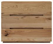 KOMMODE Wildeiche massiv geölt Eichefarben  - Eichefarben, Natur, Holz (100/81/42cm) - Valnatura