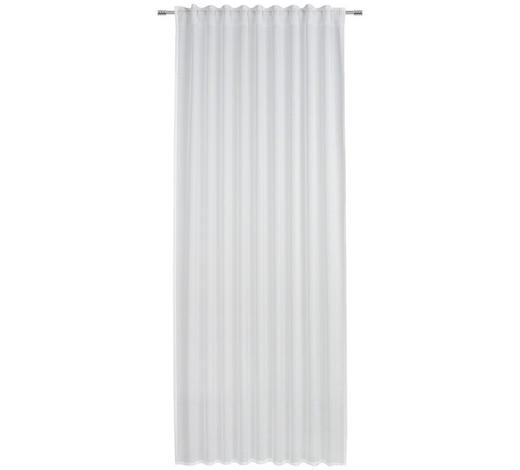 FERTIGVORHANG halbtransparent - Weiß, Basics, Textil (135/245cm) - Esposa