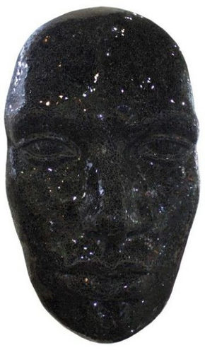 DEKORATIONSMASK - svart, Lifestyle, glas (60/104/30cm) - Ambia Home