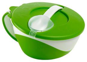 BARNSKÅL - grön, Basics, plast (16cm) - My Baby Lou