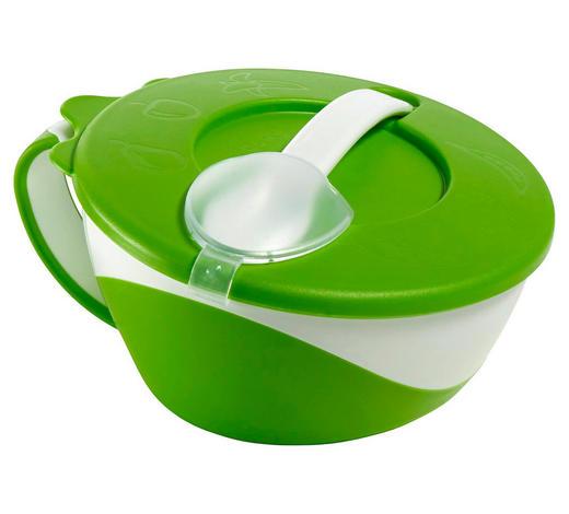 DĚTSKÁ MISKA - zelená, Basics, umělá hmota (16cm) - My Baby Lou