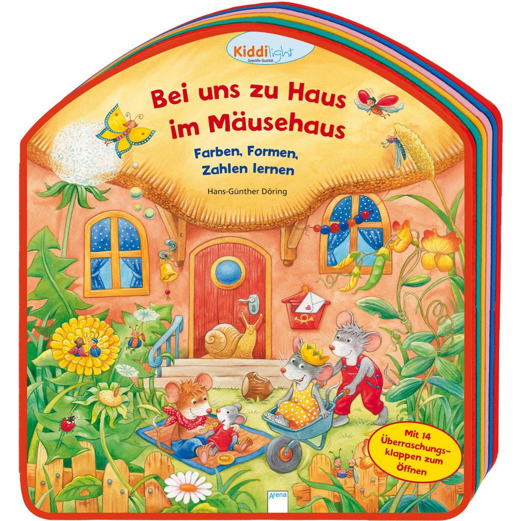 Pappbilderbuch 'Bei uns zu Haus im Mäusehaus'