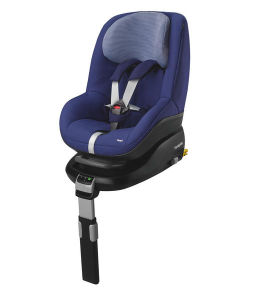 Kinderautositz Pearl - Schwarz, Kunststoff/Textil (45/50/61cm) - Maxi-Cosi