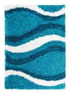 TEPIH VISOKOG FLORA - plava, Basics, tekstil (80/150cm) - Novel