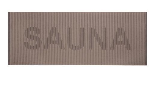 SAUNATUCH 80/200 cm - Braun, Basics, Textil (80/200cm)
