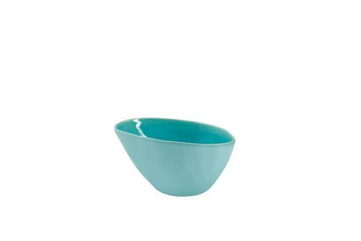 SCHALE Keramik Feinsteinzeug - Türkis, Basics, Keramik (15/8.3/11.3cm) - ASA