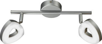 LED-STRAHLER - Silberfarben, Design, Kunststoff/Metall (31/9/15cm) - Boxxx