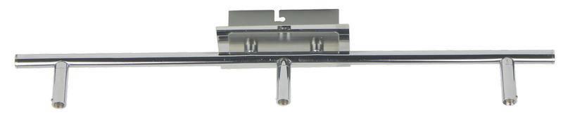 LED SVÍTIDLO - barvy chromu, Basics, kov (55cm) - BOXXX