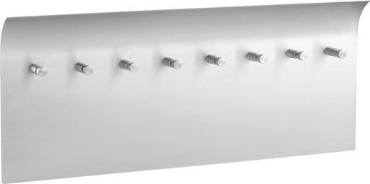 SCHLÜSSELKASTEN Edelstahlfarben - Edelstahlfarben, Design, Metall (34/14cm)
