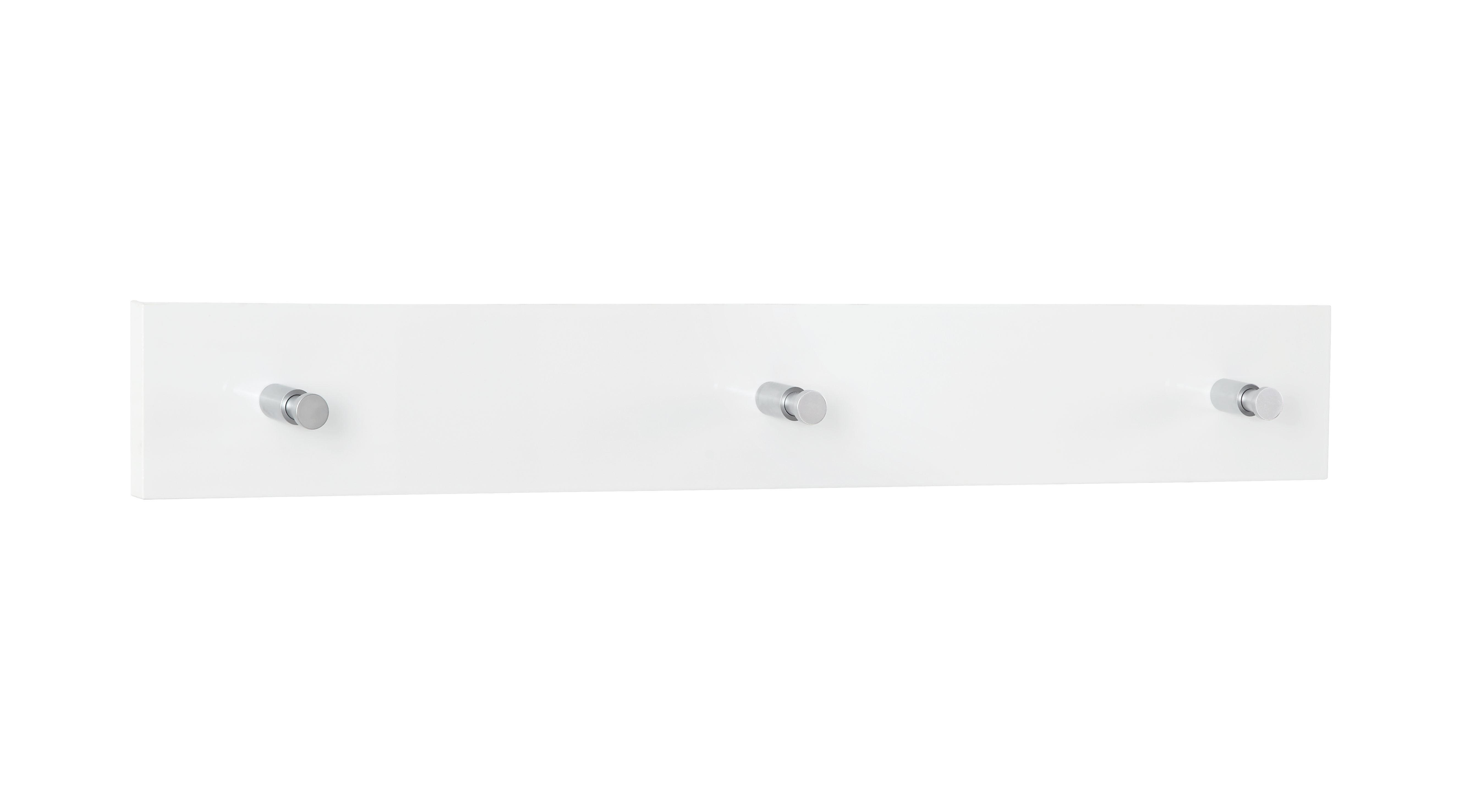 VJEŠALICA - bijela, Moderno, drvni materijal (80/11/2cm) - NOVEL