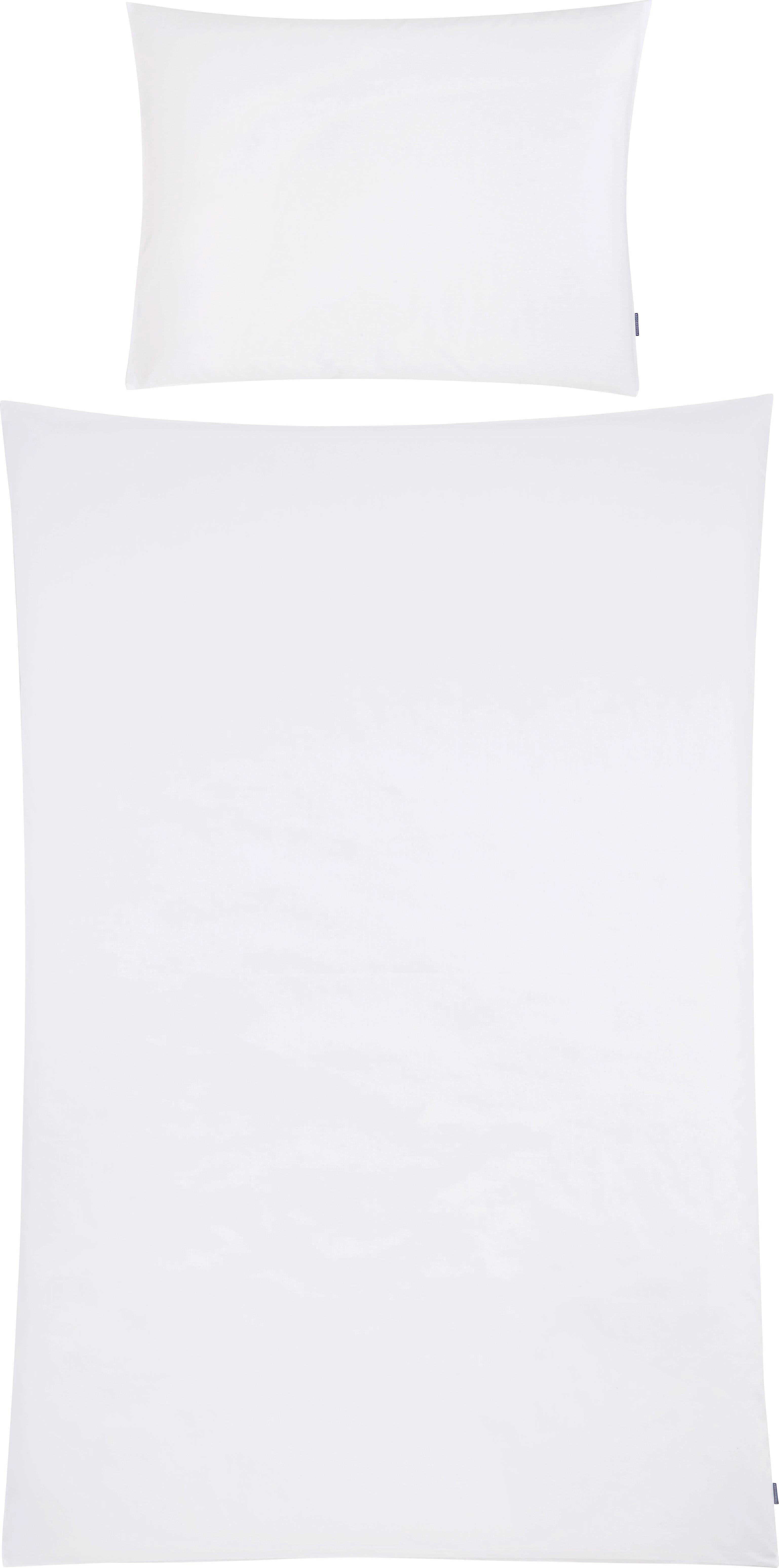 BETTWÄSCHE 140/200 cm - Weiß, Design, Textil (140/200cm) - FUSSENEGGER
