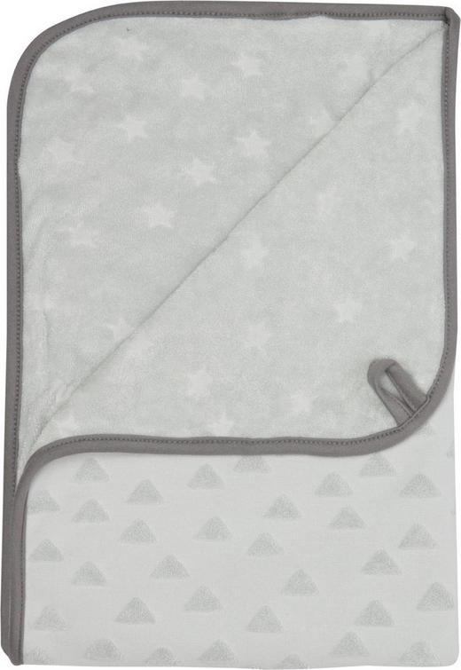 KAPUZENBADETUCH - Grau, Textil (100/75/0,5cm) - Bebe Jou