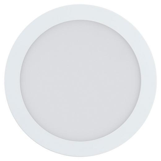 EINBAULEUCHTE FUEVA-CONNECT - Weiß, KONVENTIONELL, Kunststoff/Metall (22,5cm)