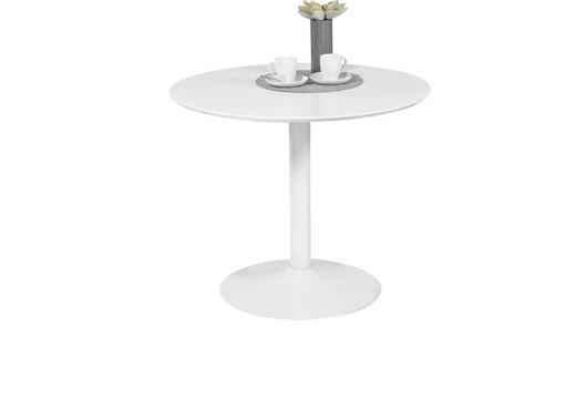 ESSTISCH Weiß - Weiß, Design, Holzwerkstoff (90/76cm)
