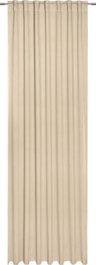 FERTIGVORHANG black-out (lichtundurchlässig) - Naturfarben, KONVENTIONELL, Textil (140/300cm) - ESPOSA