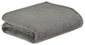 Kuscheldecke Kosima - Grau, ROMANTIK / LANDHAUS, Textil (150/200cm) - James Wood