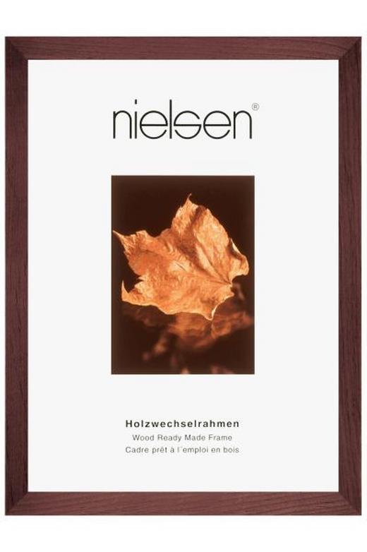 BILDERRAHMEN  Dunkelbraun - Dunkelbraun, Basics, Holz (30/40cm)
