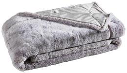 FELLDECKE 150/200 cm  - Silberfarben, KONVENTIONELL, Textil (150/200cm) - Ambiente