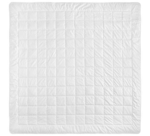 POLETNA PREŠITA ODEJA SARI - bela, Konvencionalno, tekstil (200/200cm) - Billerbeck