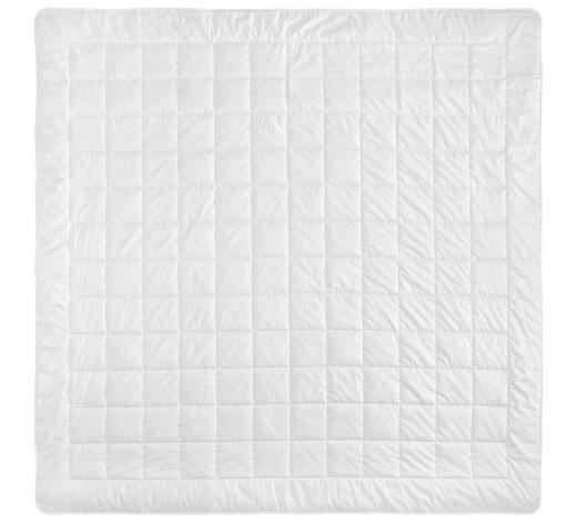 SOMMERDECKE 200/200 cm - Weiß, Basics, Textil (200/200cm) - Billerbeck