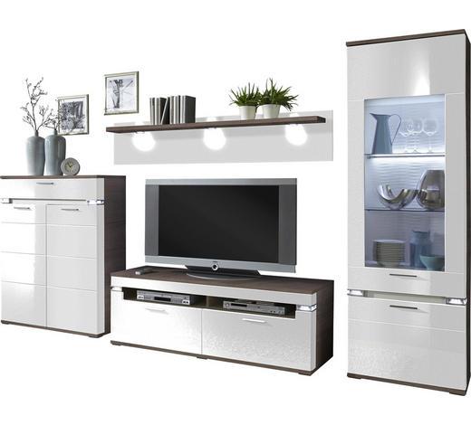 wohnwand braun grau wei online kaufen xxxlutz. Black Bedroom Furniture Sets. Home Design Ideas