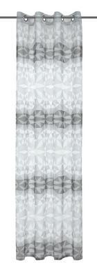 ZAVESA Z OBROČKI RAFFAEL - siva, Konvencionalno, tekstil (135/245cm) - Esposa