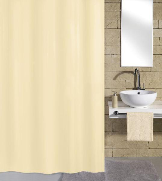 ZAVJESA ZA TUŠ - natur boje, Konvencionalno, tekstil (180/200cm) - KLEINE WOLKE