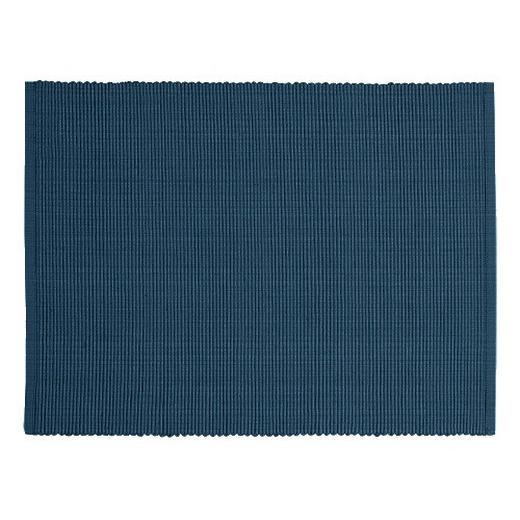 TISCHSET - Dunkelblau, Basics, Textil (35/46cm) - Linum