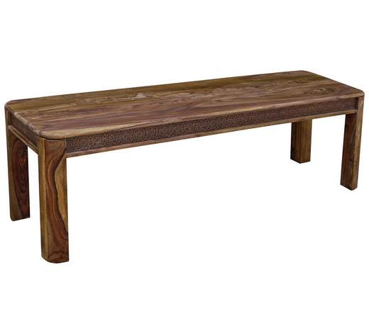 SEDACÍ LAVICE, akácie, barvy sheesham - barvy sheesham, Lifestyle, dřevo (145/45/40cm) - Landscape