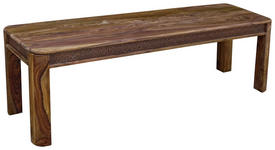 SITZBANK 145/45/40 cm  in Sheeshamfarben  - Sheeshamfarben, LIFESTYLE, Holz (145/45/40cm) - Landscape