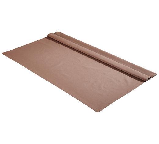 TISCHDECKE Textil Webstoff Taupe 100/100 cm - Taupe, Basics, Textil (100/100cm) - Bio:Vio