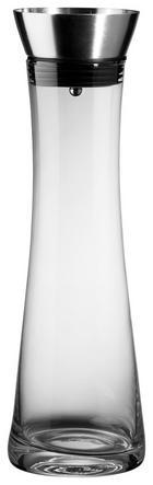 WASSERKARAFFE 1 L - Transparent, Basics, Glas/Metall (10/35cm)