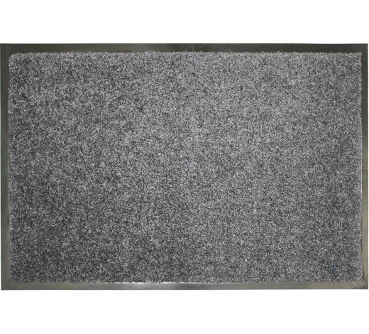 FUßMATTE 60/90 cm - Blau/Grau, KONVENTIONELL, Textil (60/90cm) - Esposa