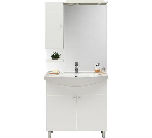 KUPAONICA  bijela  - bijela, Konvencionalno, drvni materijal (85/186/33-49cm) - Xora