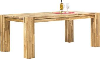 ESSTISCH Wildeiche massiv rechteckig Eichefarben - Eichefarben, Design, Holz (200/100/75cm) - Linea Natura