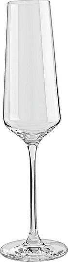 CHAMPAGNEGLAS - transparent, Basics, glas (7,20/26,00/7,20cm) - LEONARDO