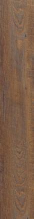 DESIGNBODEN  Dunkelbraun  per Paket - Dunkelbraun, Basics, Kunststoff (121/19/0,5cm) - Venda
