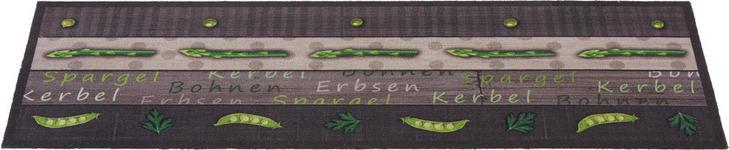 KÜCHENTEPPICH 45/150 cm - Grau/Grün, KONVENTIONELL, Kunststoff (45/150cm) - Esposa