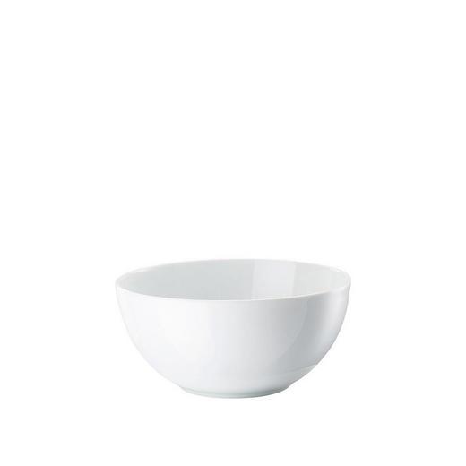 SUPPENSCHALE Porzellan - Weiß, Basics (19/9cm)