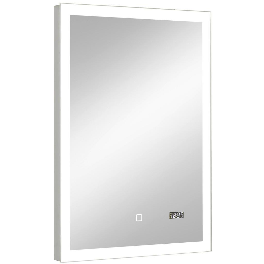 Image of Xora Badezimmerspiegel 50/70/3 cm , 980.835022 , Glas , 50x70x3 cm , feuchtraumgeeignet, senkrecht montierbar , 001977022512