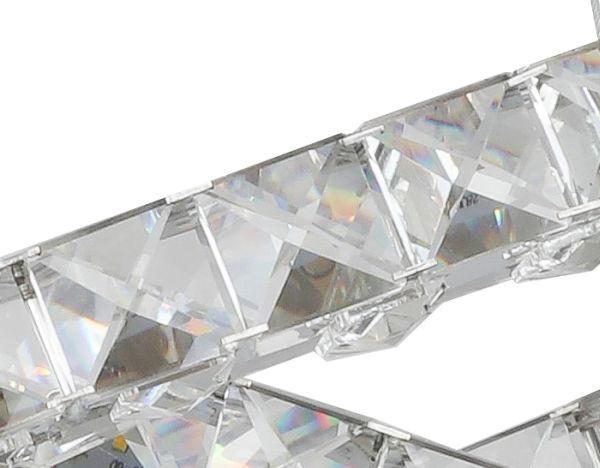 HÄNGELEUCHTE - Chromfarben, LIFESTYLE, Glas/Metall (90/67/160cm) - GLANDOR