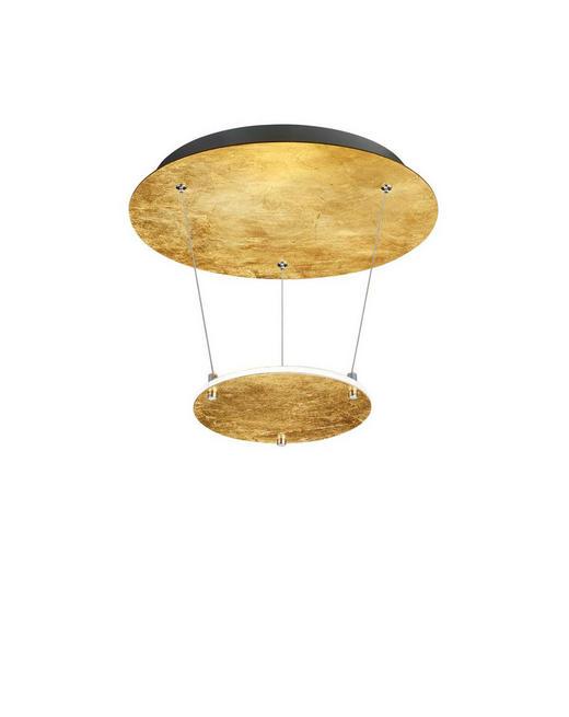 LED-HÄNGELEUCHTE - Goldfarben, Design, Metall (36,0/50,0cm)