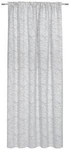 ZÁVĚS - šedohnědá, Konvenční, textil (140/245cm) - ESPOSA