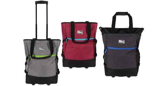 EINKAUFSTROLLEY - Blau/Pink, Trend, Textil/Metall (36/50/20cm) - Boxxx